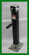 RAM 7000 Lbs. Square Drop Leg Foot Trailer tongue Jack 7K Side Wind
