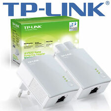 Powerline LAN TP-Link av500 Av POWERLan 500 Mbps Ethernet bridge tl-pa4010kit