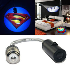 3D superman badge Bedroom wall ceiling E26 E27 LED logo projector spot light