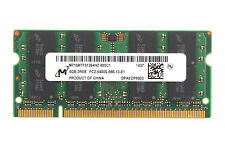 Mircon 4GB DDR2-800MHz 2RX8 PC2-6400S SO-DIMM 200PIN Intel Notebook Memory RAM