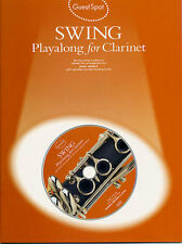Guest Spot SWING for Clarinet Playalong Music Book CD