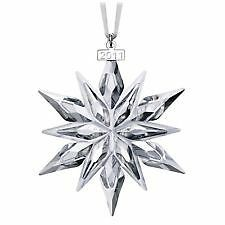 GENUINE SWAROVSKI 2011 LARGE ANNUAL EDITION CHRISTMAS ORNAMENT BNIB  1092037