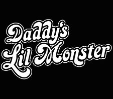 Daddy's little monster Suicide Squad Sticker decal window car laptop