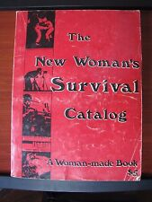 The New Women's Survival Catalog - a woman-made book - 1973 PB