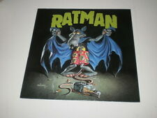 RISK - RATMAN - MINI LP 1989 STEAMHAMMER RECORDS - EX++/VG++ - TRASH METAL - OIS