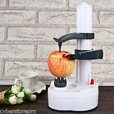 Electric Peeler Quick Peel Pare Potato Vegetable Fruit With 2 blades