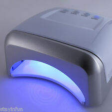 60W UV/LED Dual Purpose High Power Manicure LED Phototherapy Nail Gel Lamp  US