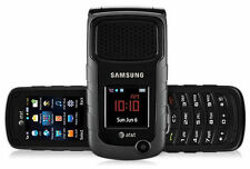 UNLOCKED AT&T Samsung Rugby 2 II A847 3G GSM Rugged Flip Camera Phone Black-New