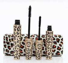 6 Sets LOVE ALPHA Leopard Case Transplanting Gel Natural Fiber Mascara- LA729