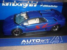 AUTOart 70082 Lamborghini Diablo SV Blau Blue Metallic 1/18 Very Rare Sehr Selte
