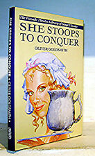 SHE STOOPS TO CONQUER, Oliver Goldsmith, Drama Fireside Theatre, HB/DJ