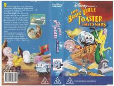 DISNEY - THE BRAVE LITTLE TOASTER: GOES TO MARS  *RARE VHS TAPE*