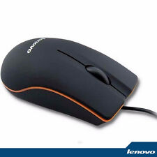 LENOVO - Optical Wired Mouse 1000DPI USB For Computer PC Windows / Mac OS M20