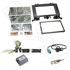 MERCEDES SPRINTER W906 ab06 Doppel 2-DIN Radioblende + CAN-BUS ISO Adapter SET