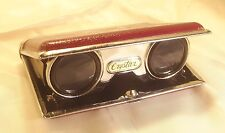 Vintage Crystar Folding Opera Theater Glasses Binoculars