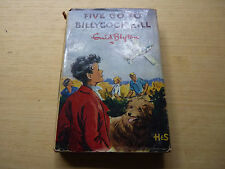 Blyton Five Go To Billycock Hill 2nd Impression 1959 Wrapper