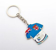 Rugby World Cup 2015 Fiji Jersey Flag Key Ring