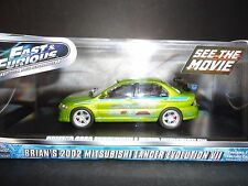Greenlight Mitsubishi Lancer EVO VII 2002 Fast and Furious 1/43 Limited Edition