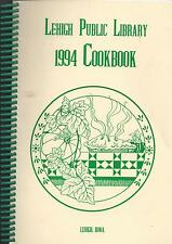 *LEHIGH IA 1994 FRIENDS OF *PUBLIC LIBRARY COOK BOOK *IOWA COMMUNITY RECIPES