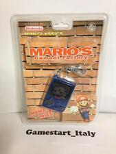 NINTENDO MINI CLASSICS MARIO'S CEMENT FACTORY NUOVO NEW - VERY RARE -