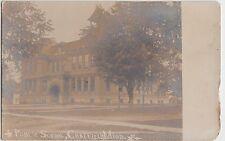 Minnesota Minn Postcard Mn c1910 CHATFIELD Public School Real Photo RPPC