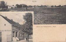 4174- Gruß aus Falkenrehde Mark bei Ketzin Havel im Landkreis Havelland um 1910
