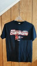 BOSTON RED SOX TEE LARGE BLUE GRAPHIC 2004 AMERICAN LEAGUE CHAMPION LEE SPORT
