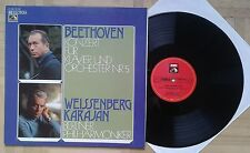 T672 WEISSENBERG KARAJAN BEETHOVEN PIANO CONCERTO No.5 EMI ELECTROLA STEREO