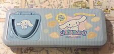 a very cute sanrio 2002, 2004 cinnamoroll tin pencil pen case box hello kitty