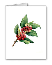 COFFEE PLANT Note Cards With Envelopes