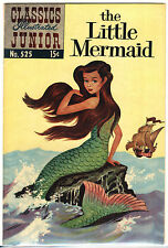 "Classics Illustrated Junior 525 F/VF 7.0 ""The Little Mermaid"" 1956"