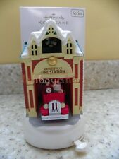 Hallmark 2012 Kringleville Fire Station House Series Christmas Ornament