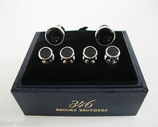 NIB Authentic 346 BROOKS BROTHERS Formal Tuxedo STUD Set Cufflinks Cuff Links