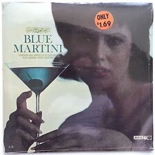 BLUE MARTINI Plas Johnson Sax - John Neel Composer SEALED MONO LP Storage Find