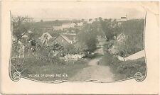 Scene in the Village of Grand Pre in Nova Scotia Canada Postcard