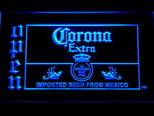 Corona Beer OPEN Bar LED Neon Sign Man Cave 035-B