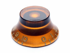 Gibson-Style Top-Hat Knob, Amber
