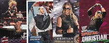 TOPPS WWE WWF 4 CHRISTIAN WRESTLING CARDS BORN IN CANADA 3 2001 CARDS