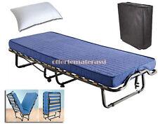 Brandina pieghevole letto con materasso e cuscino OMAGGIO! PRONTA CONSEGNA