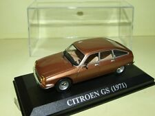 CITROEN GS 1971 Marron ALTAYA 1:43