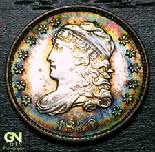 1830 Capped Bust Half Dime R1 V6 LM8  --  MAKE US AN OFFER!  #O5697