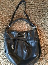 Marc by Marc Jacobs Standard Supply Workwear Black Leather Hobo Purse Bag