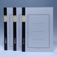 Set of 3 Japanese Notebook TSUBAME Note A4 40pages Brand New Made In Japan