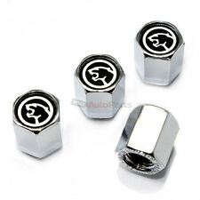 (4) Mercury Ford Cougar Logo Chrome ABS Tire/Wheel Stem Air Valve CAPS Covers