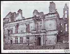 1933 -CHATEAU D ASSIER  LOT  AVANT RESTAURATION  D492