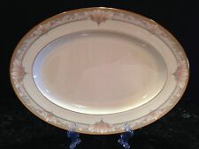 Noritake BARRYMORE Bone China Oval Serving/Meat Platter  14 1/4 x 10 1/4""
