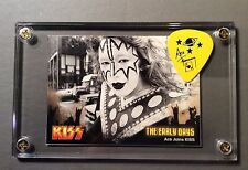 KISS Ace Frehley last tour guitar pick / vintage early 70's image card display!