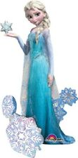 "57"" Frozen Elsa the Snow Queen Airwalker Foil Balloon Party Decorating Supplies"