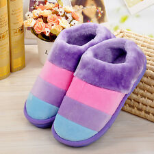Women Autumn Winter Home Soft Slippers Female Cotton-padded Shoes PPM37-39 C