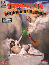 Tenacious D Guitar Music Book The Pick of Destiny TAB